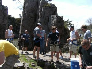 Rock climbing back in May! What is next for you?