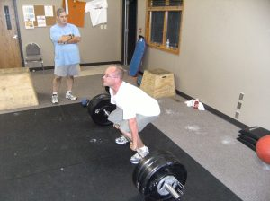 Jimmy with great Deadlift form!