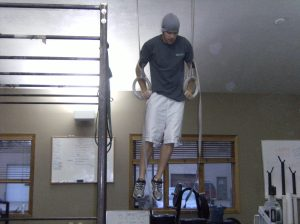 Nice Muscle Up Garrett!