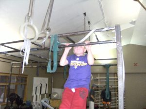 Brooks Nelson, 6 years old and already got a pullup. Just think of him at 16!