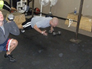 Think your good at Pushups...try Slapping Pushups...Way to go Matt B!