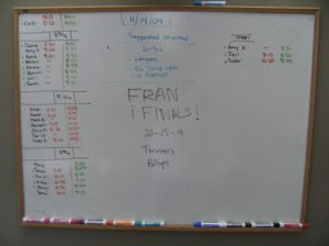 Nov 14 Fran Finals